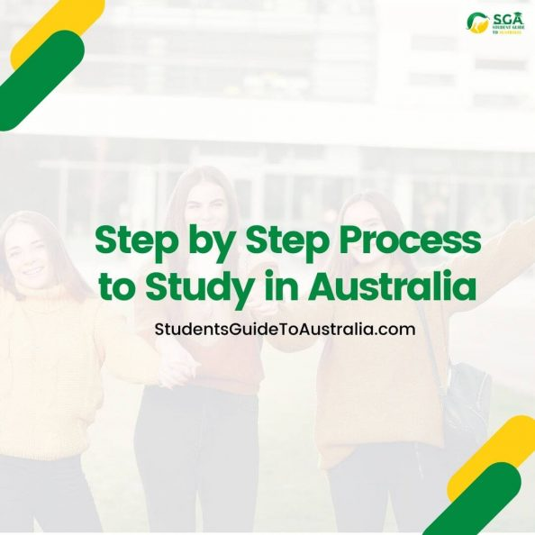 Step by step Process to Study in Australia [Complete Guide]